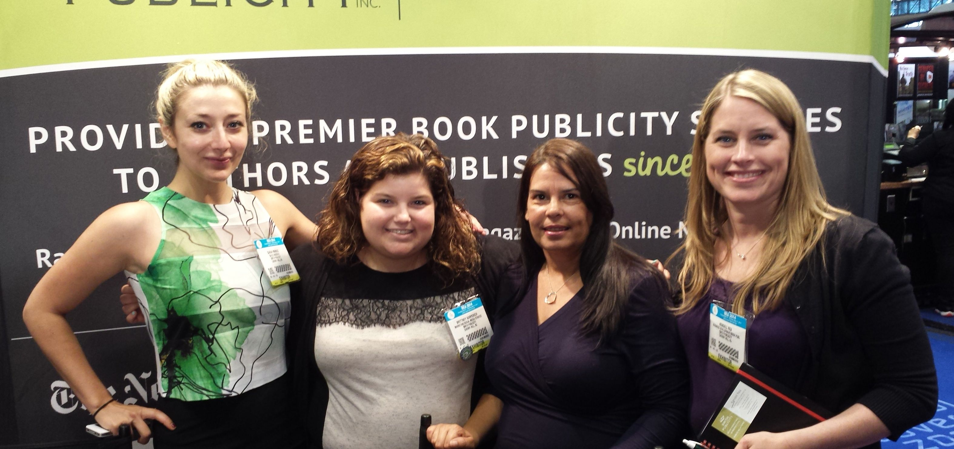 Smith Publicity staffers at BEA