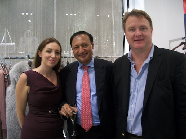 Dina Barsky, Dr. Mosaraf Ali and Dan Smth