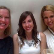 Kate Knapp, Corinne Liccketto and Marissa Madill at BEA 2014