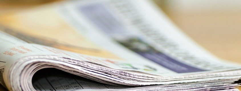 How authors can make themselves newsworthy.