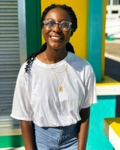 Image of Anaya O'Brien who is winner of the persuasive writing scholarship from book publicist Smith Publicity.