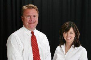 CEO Dan Smith and President Sandra Diaz