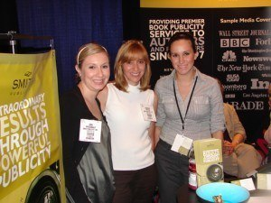 Smith Publicity Director of Publicity Strategy Erin Birnbaum with publicist Annmarie Petitto and Senior Publicist Melissa Sileo